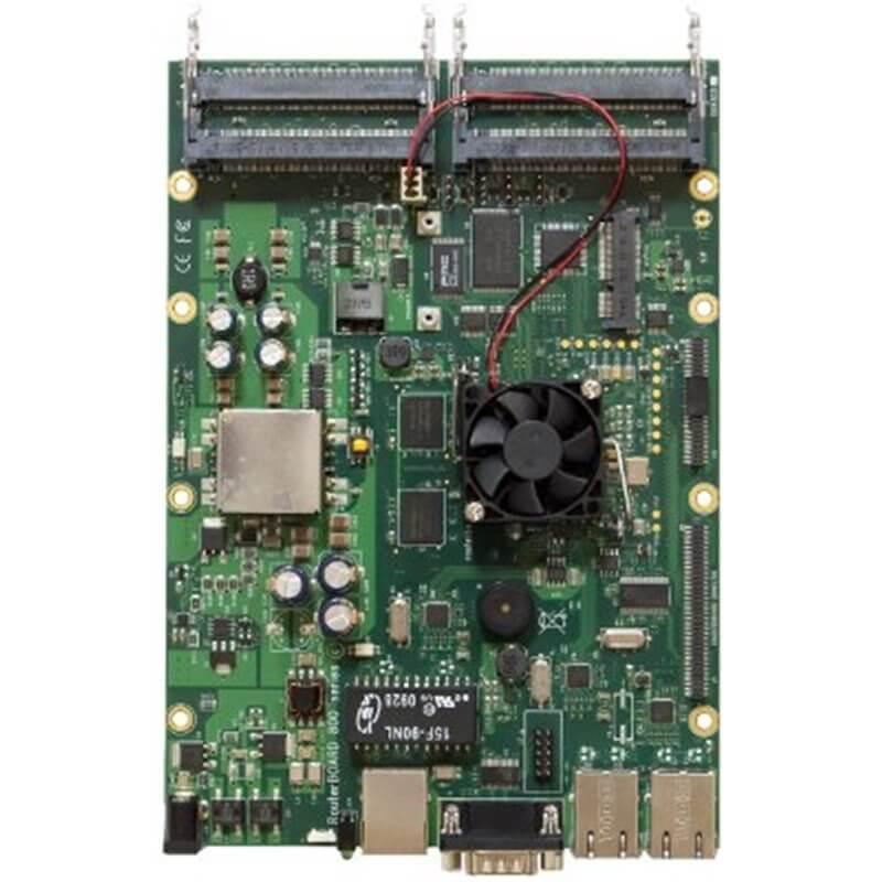 RouterBOARD RB800, 3x LAN, 4x MiniPCI, 1x MiniPCI-e, 256MB DDR-RAM