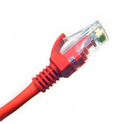 Cavo UTP PatchCord 0,50 Metri  50 CM cat.5e colore RED ROSSO