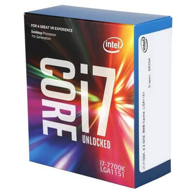 CPU INTEL CORE I7-7700K @4.20GHZ 8M CACHE SKT. LGA 1151 KABY LAKE