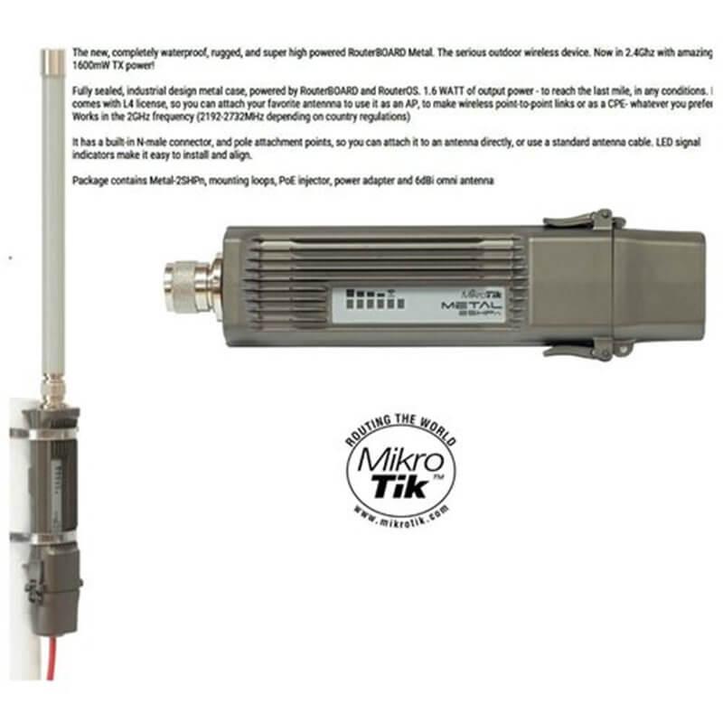 MikroTik RouterBOARD Metal 2 RBMetal2SHPn