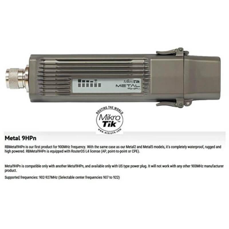 MikroTik RouterBOARD Metal 9 RBMetal9HPn