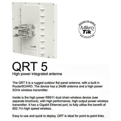 MikroTik RouterBOARD QRT 5 RB911G-5HPnD-QRT