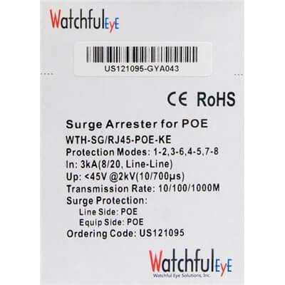 Gigabit Netprotector per AirFiber e SIAE Watchful Eye Solutions WTH-SG/RJ45-POE-KE