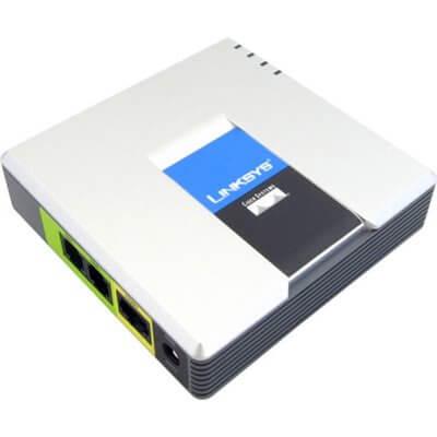 Linksys PAP2 adattatore ATA SIP/VoIP con 2 porte FXS PAP2T