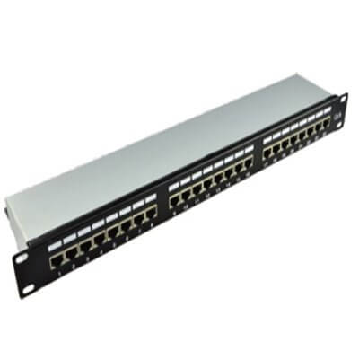 EXTRALINK 24 PORT CAT5E FTP PATCH PANEL EX-2008