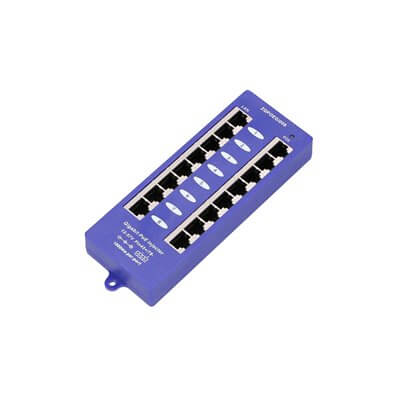EXTRALINK POE INJECTOR 8 PORT GIGABIT EX-6365