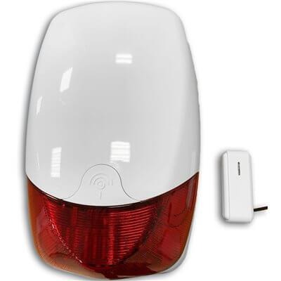 Sirena Wireless e a Cavo - SIRENA SC-ANTIJAM Defender con Antijam incorporato