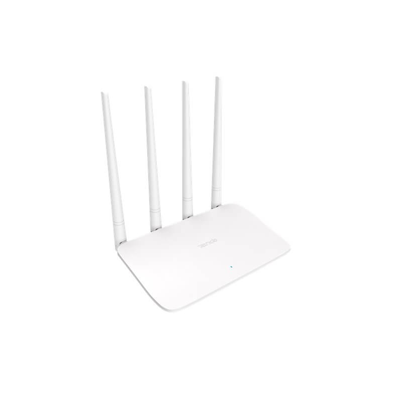 TENDA F6 router wireless 2.4 GHz, 300 Mb/s, 4T4R