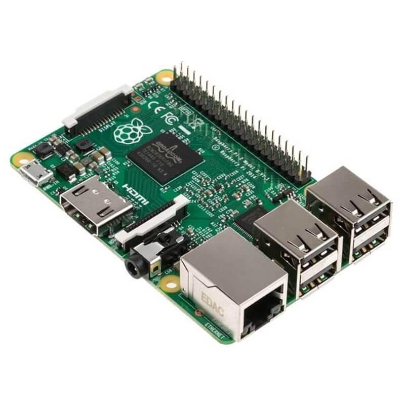 Raspberry Pi 2 Modello B Quad Core CPU 900 MHz, 1 GB RAM
