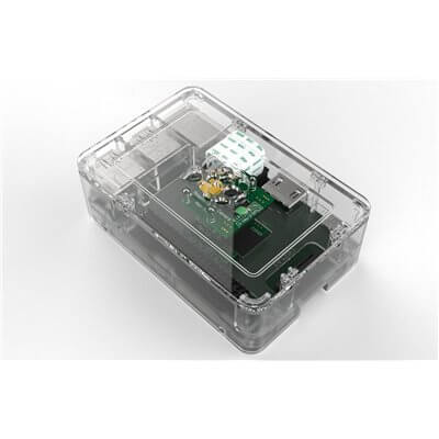 Raspberry Pi 2 & Pi Model B+ Case (OneNineDesign) - CLEAR COLOR