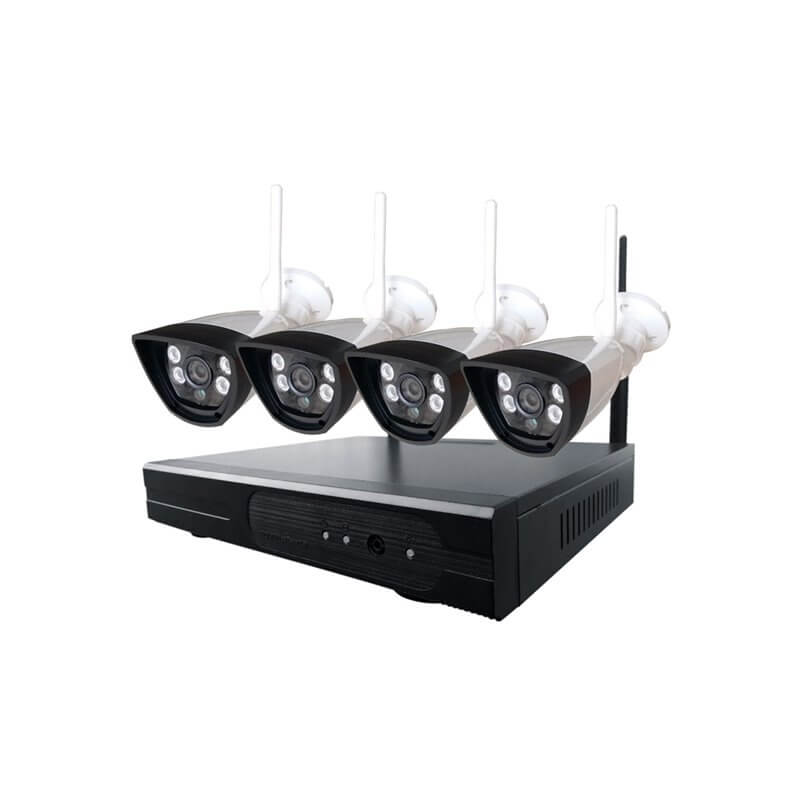 NETIS SEK204 4x IP camera + net video recorder