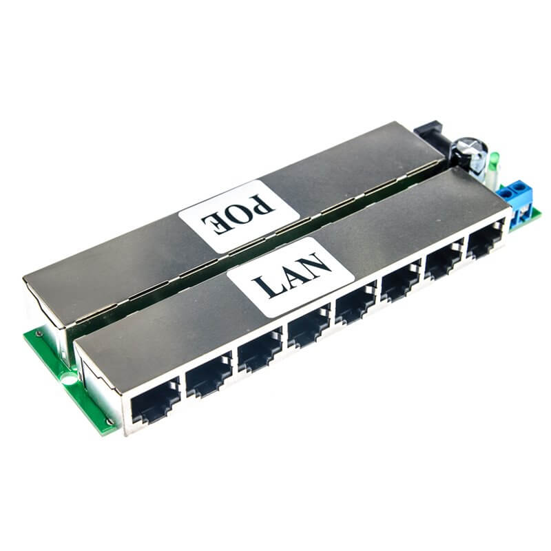 Adapter PoE 8-port  (8p 9-48V)
