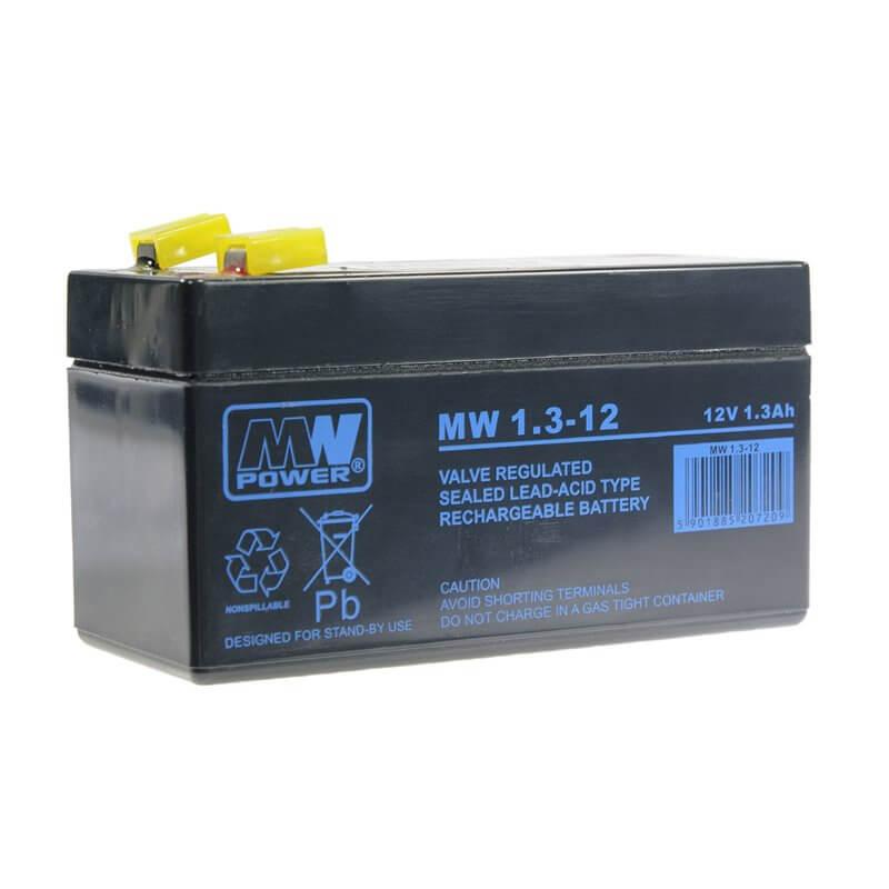 Batteria MW 1,3-12 1.3Ah 12V