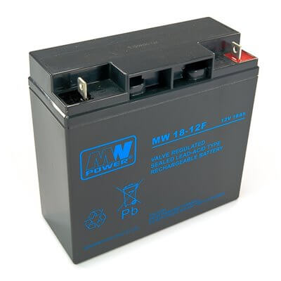 Batteria MW 18-12F 18Ah 12V (connettore verticale)