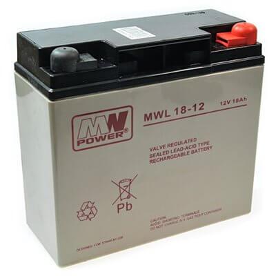 Batteria 12V 18Ah 18-12 MWL Long Life