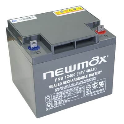 NEWMAX PNB12400 Battery 12V 40Ah Long Life