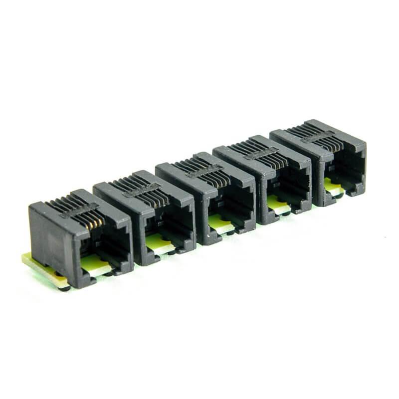 Splitter RJ11 sensore di temperatura DS18B20 controller LAN