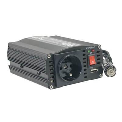 Invertitore di tensione 350/500W 24V/230V PLUS
