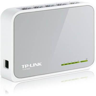 TL-SF1005D TP-LINK SWITCH LAN 5 PORTE ETHERNET 10/100 MBPS RJ45 SDOPPIATORE HUB