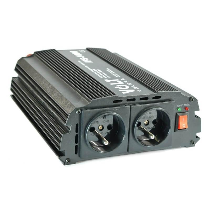 Convertitore di tensione 700/1000W 12V/230V