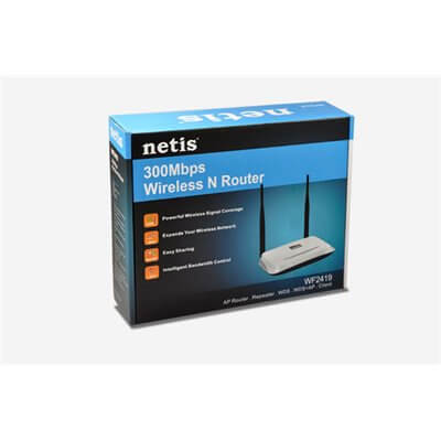 NETIS WF2419 300MBPS WIRELESS N 2.4GHZ 802.11BGN ACCESS POINT ROUTER