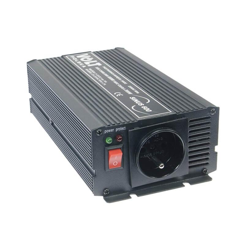 Convertitore di tensione sinusoidale 300/600W 24V/230V