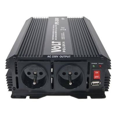 Convertitore di tensione 1700/3000W 12V/230V