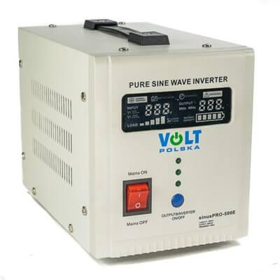 Inverter sinusPRO-500E 12V 300W 500VA