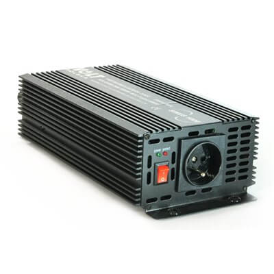 Convertitore di tensione sinus 800/1000W 24V/230V