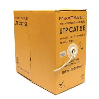 Cavo UTP Maxcable, kat.5e, 305m, CCA