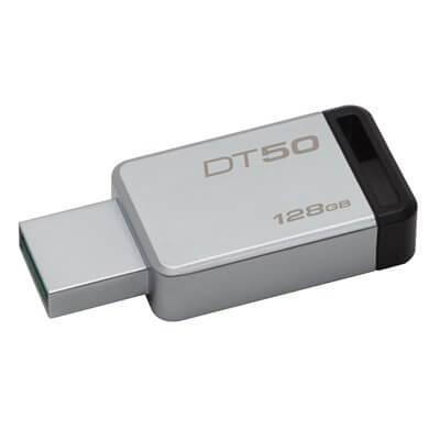 PENDRIVE USB 3.0 Flash 128GB KINGSTON DATATRAVELER 50 DT50/128GB