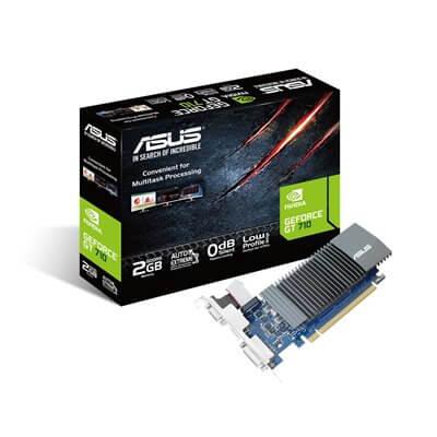 SCHEDA VIDEO 2GB ASUS GT710 DISSIPAZIONE PASSIVA GT710-SL-2GD5