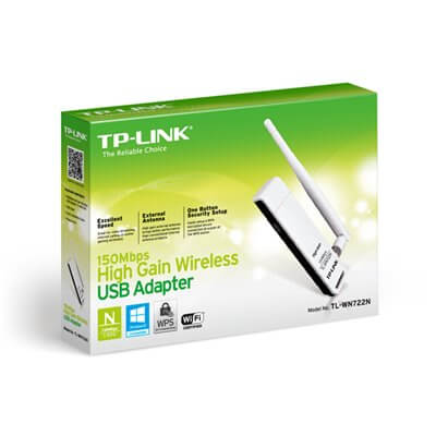 TP-LINK Wireless Lite N High-Gain Adattatore USB