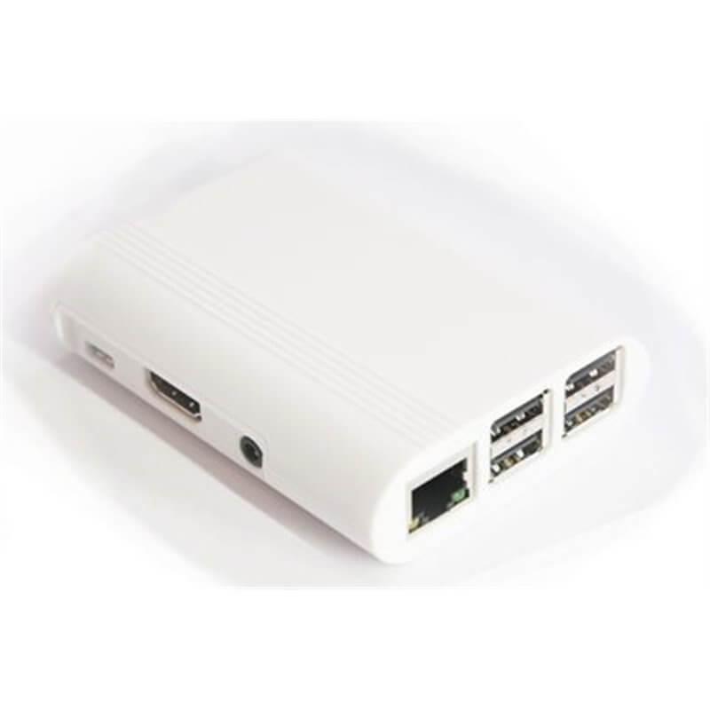 Contenitore  per Raspberry Pi 3 Model B, 2 B, B+, bianco