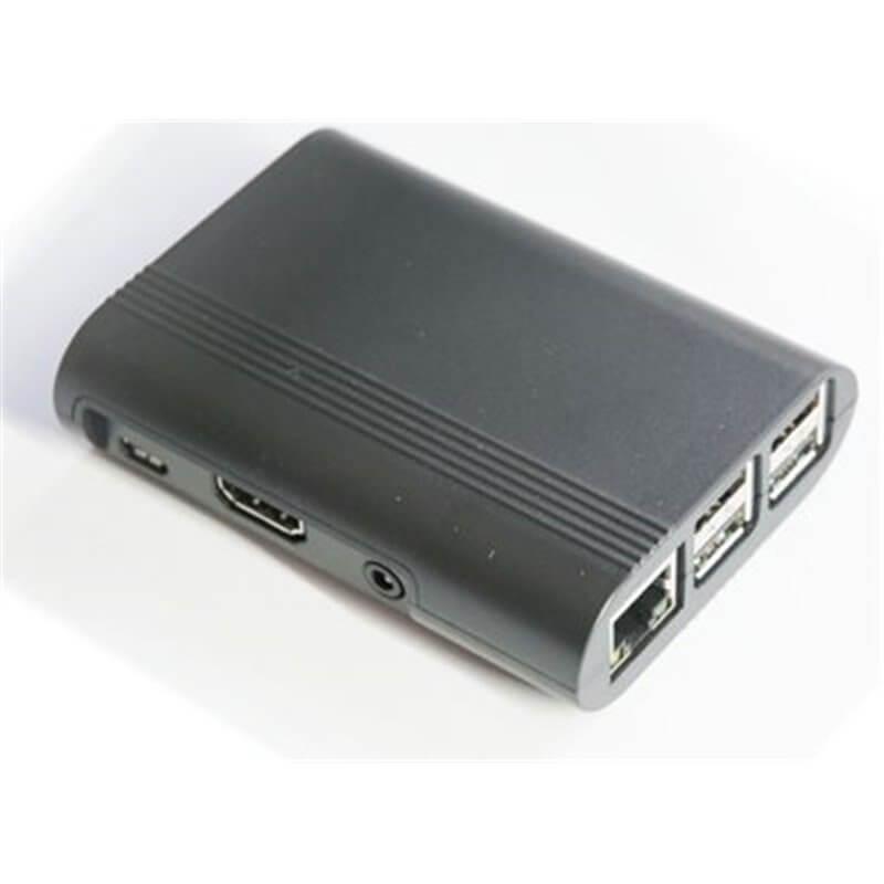 Contenitore  per Raspberry Pi 3 Model B, 2 B, B+, nero
