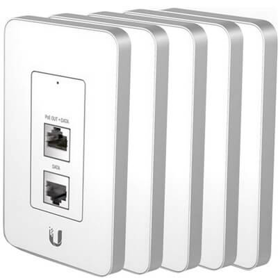 Ubiquiti UniFi In Wall 5-pack (UniFi AP In-Wall-5)
