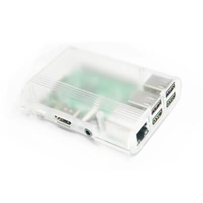 Contenitore  per Raspberry Pi 3 Model B, 2 B, B+, trasparente opaco