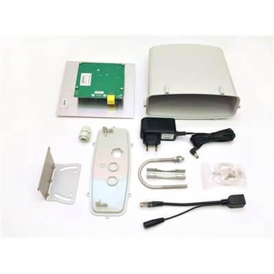 WISP KIT MIKROTIK AntennaBox 19dBi 5GHz (Panello+RB911-5Hn+alimentatore+PoE) E01