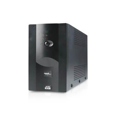 MACHPOWER UPS 800VA/390W METAL 1*12V/7AH, 2*OUTPUT, 1*USB, SOFTWARE DI GESTIONE UPS-LIT80M