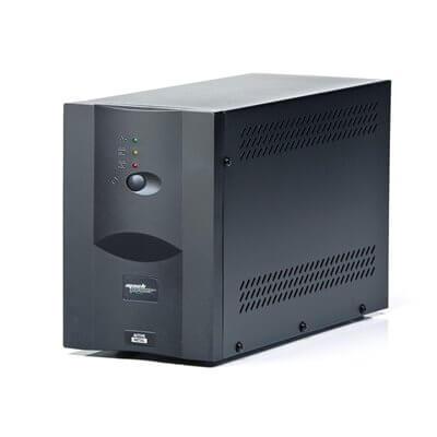 MACHPOWER UPS 1000VA/510W METAL 1*12V/8AH, 2*OUTPUT, 1*USB, SOFTWARE SHOTDOWN UPS-LIT10M