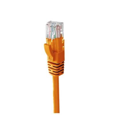 MACH POWER CAVO LAN ETHERNET UTP CAT.6 1M IN RAME 24AWG COLORE ARANCIO - CV-PU6L-051-O