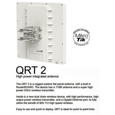 MikroTik RouterBOARD QRT 2 RBQRTG-2SHPnD