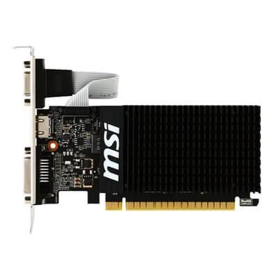 SCHEDA VIDEO 2GB MSI GT710 DISSIPAZIONE PASSIVA GT-710-2GD3H-LP